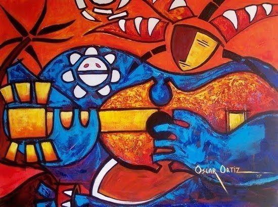 David Rodriguez Blog: Oscar Ortiz - Pintor Puertorriqueño