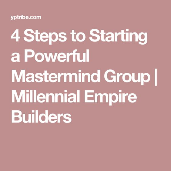 How to Start a Mastermind Group - its Format, Rules \ Agenda - format for an agenda