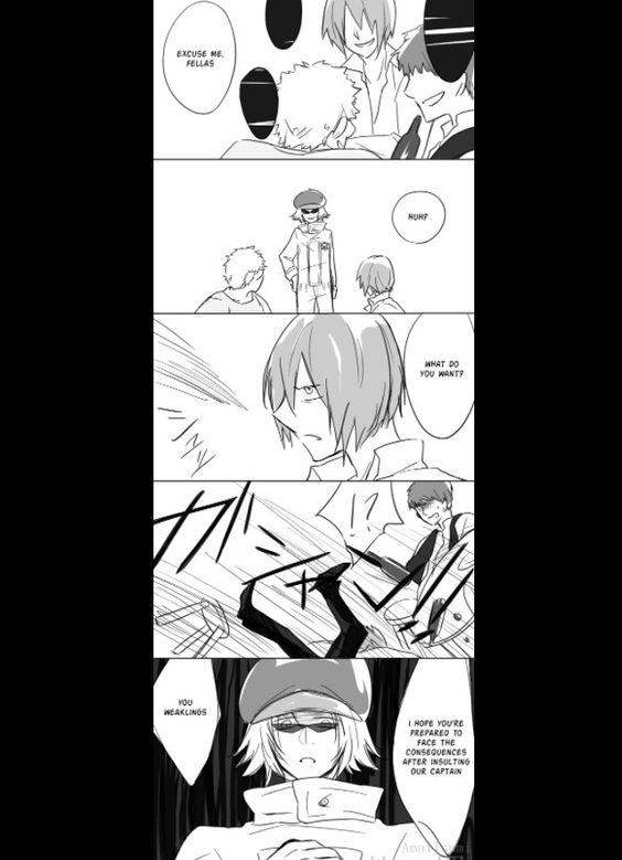 Trafalgar Law, Shachi and Penguin 'Don't insult our captain' part 2