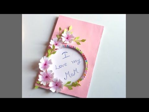 Diy Mother S Day Card Mother S Day Pop Up Card Making Pop Up Balloon Card For Mom Youtube Mothers Day Cards Mother S Day Diy Happy Mother S Day Card