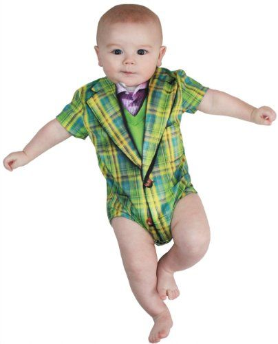 Faux Real Plaid Suit Baby Costume Creeper Romper Snapsuit Snapsuit Size: 6 Months Faux Real,http://www.amazon.com/dp/B00C4YR9E0/ref=cm_sw_r_pi_dp_2kE4sb1N4T3AR7Z9