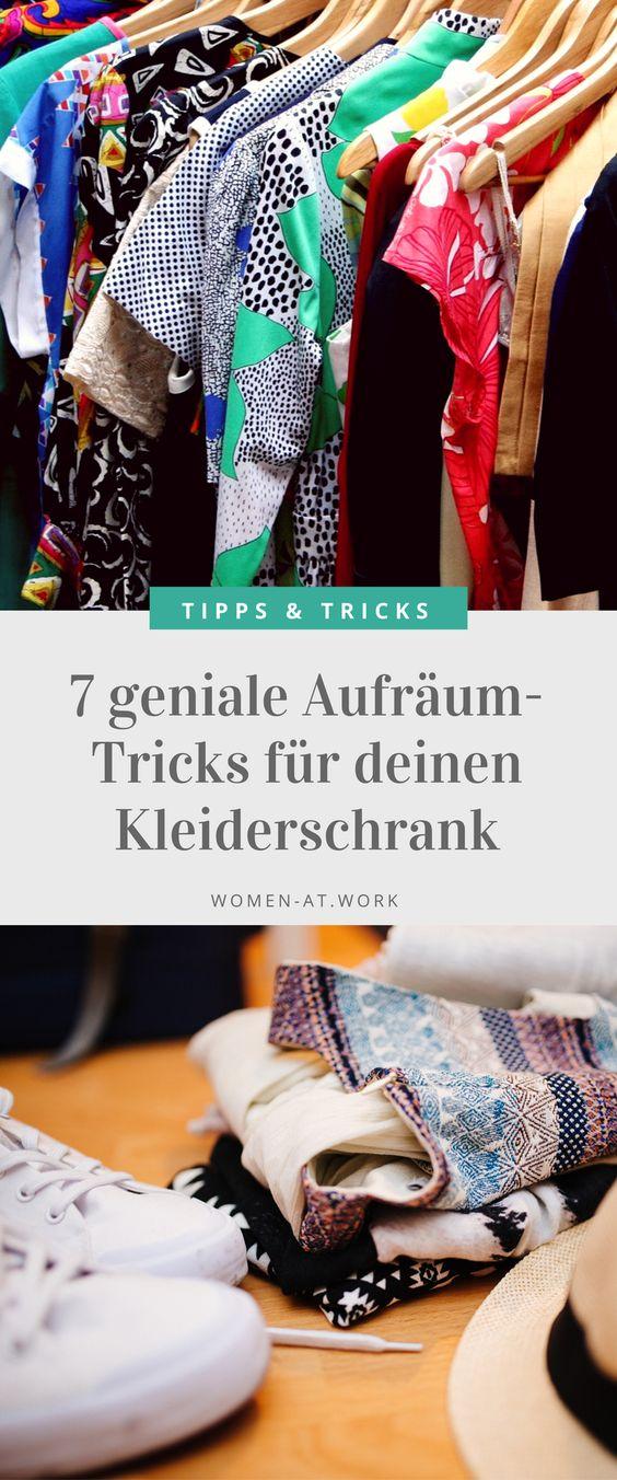 7 geniale Aufräum-Tricks für deinen Kleiderschrank