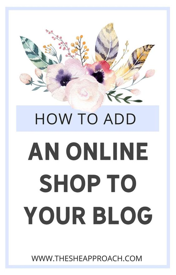 Can you create a Blogger online store like you can on WordPress? Short answer: yes. If you answered yes and aren't sure how to add ecommerce to your blog then read on. I'll share with you some simple steps to turn your blog into an online store. Monetize your blog now and add a store to your website to make sales #makemoneyblogging #makemoneyonline #onlineshop