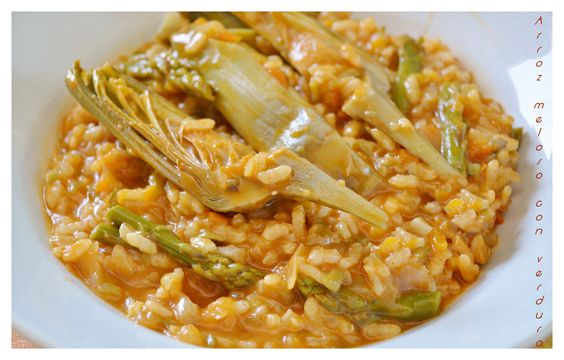 Thermomix and recetas on pinterest - Arroz con verduras light ...