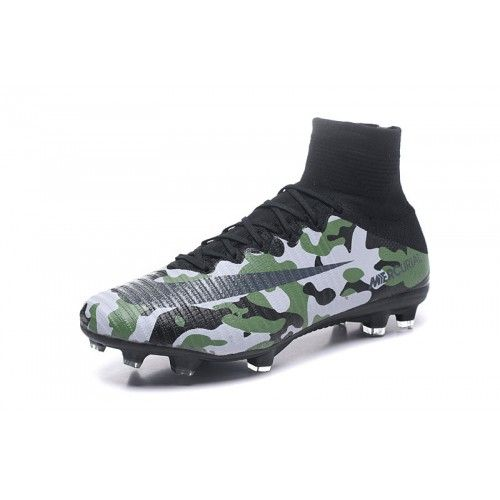 CHEAP NIKE SOCCER NIKE Mercurial Superfly V CamouFlage Black Grey