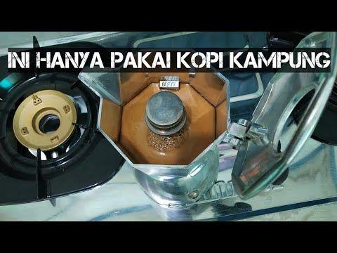 Cara Membuat Espresso Tanpa Mesin Menggunakan Moka Pot Youtube Espresso Kedai Kopi