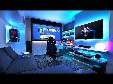 The His And Hers Battlestation Computer Setup Gaming Desk Gaming Room Setup