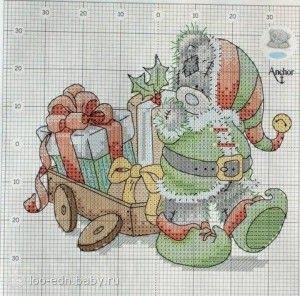 Stickvorlagen kreuzstich weihnachten kostenlos dekoking - Sticken vorlagen kostenlos ...