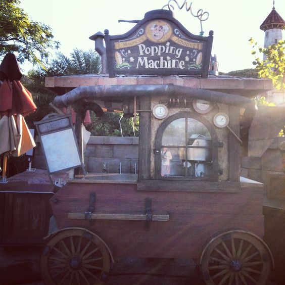 Maurice's Popping Machine at the village in New Fantasyland - Magic Kingdom