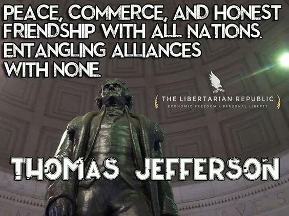 Thomas Jefferson. - https://www.sonsoflibertytees.com/patriotblog/thomas-jefferson-5/?utm_source=PN&utm_medium=Pinterest&utm_campaign=SNAP%2Bfrom%2BSons+of+Liberty+Tees%3A+A+Liberty+and+Patriot+Blog  www.SonsOfLibertyTees.com Liberty & Patriotic Threads   http://goo.gl/quwVdn
