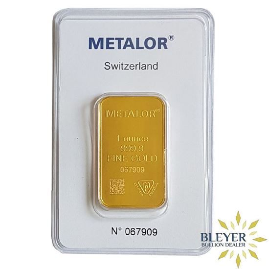 Purchase 1oz Metalor Gold Bar From A Trusted Uk Bullion Dealer With Free Insured Delivery Gold Bar Gold Investments Mint Gold