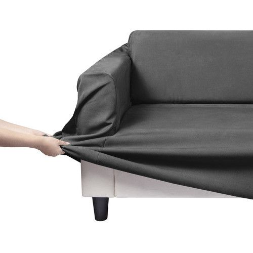 Stretch Premium Faux Suede Sofa Cover