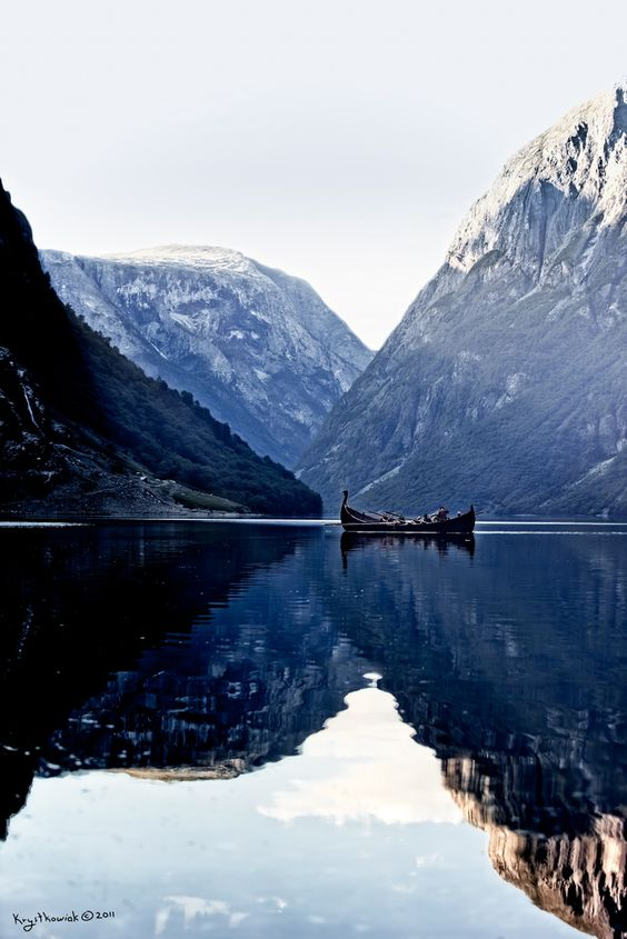 Norwegian reflections.