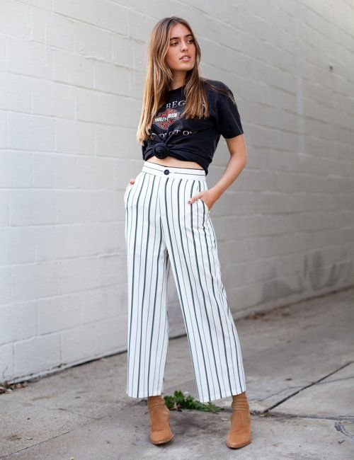 isabelle's cabinet About Me Striped Pants. Size m