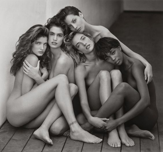 Stephanie, Cindy, Christy, Tatjana, Naomi, Hollywood, 1989 - Herb Ritts Foundation / The J. Paul Getty Museum, Los Angeles