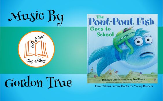 The Pout Pout Fish Goes to School song! Everything about this is perfect for school. AND, there are free printable class activity sheets at PoutPoutFish.com