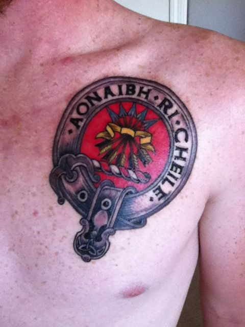 My new tattoo............ Let us unite