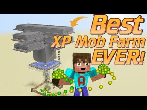 How To Make An Xp Farm In Minecraft How To Make A Mob Farm Minecraft Tutorial Minecraft Farm Yout Minecraft Tutorial Minecraft Farm Minecraft Decorations