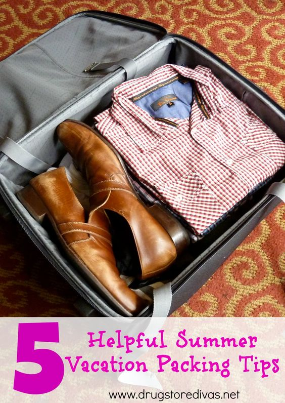 #ad Before you pack for your next trip, check out these 5 Helpful Summer Vacation Packing Tips from www.drugstoredivas.net.