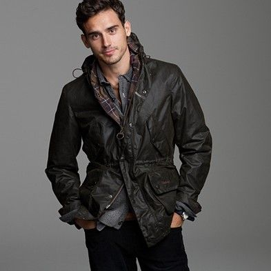 Amazing Barbour jacket.