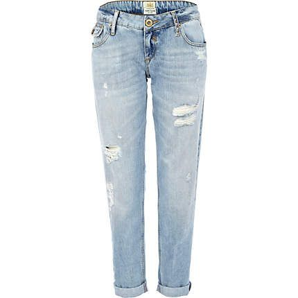Distressed denim jeans for women – Global fashion jeans collection