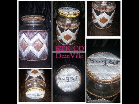 برطمان سكر من الكنفا البلاستيك Jar From Canvas Plastic افكار مصريه Youtube Plastic Canvas Sorel Winter Boot Ll Bean Boot