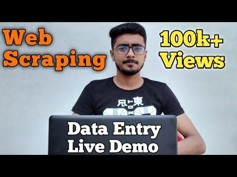 Data Entry Work On Fiverr Web Scraping Tutorial Hba Services