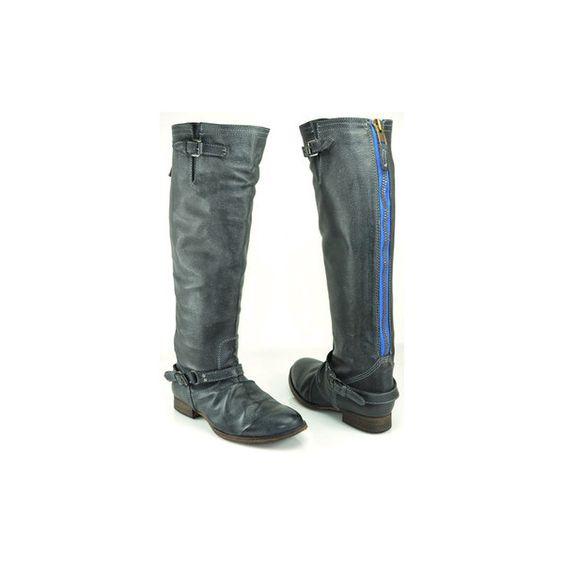 Steve Madden Boots With Blue Zipper - Gommap Blog