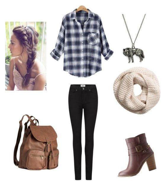 """Untitled #32"" by piper-staunton on Polyvore featuring Paige Denim, Charlotte Russe and H&M"