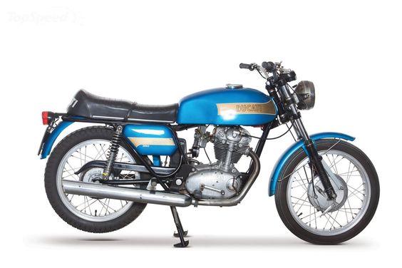 1970 Ducati 250 Mark 3
