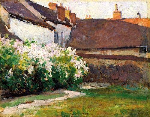 bofransson:    Afternoon Shadows, Grez, France Robert Vonnoh