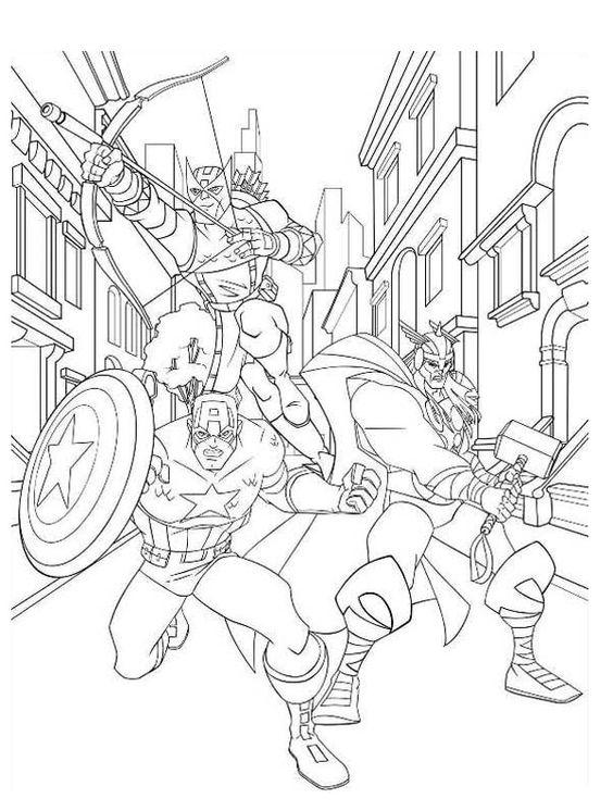 Captain America Ausmalbilder: Pinterest • The World's Catalog Of Ideas