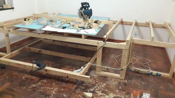 cama debjo de tarima de madera - Buscar con Google