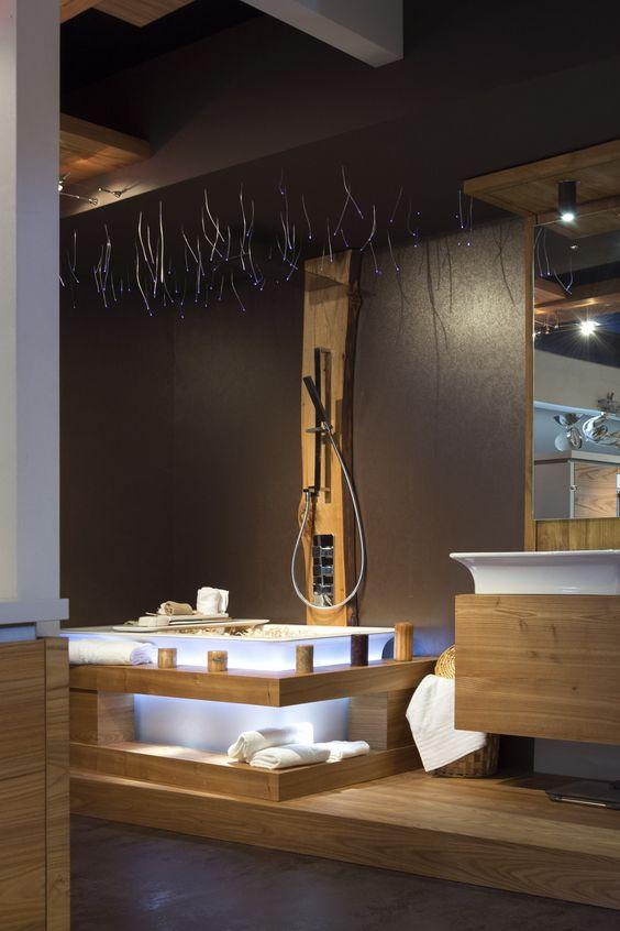 bagno relax realizzato dalla falegnameria ivo fontana mobili di belluno made in italy