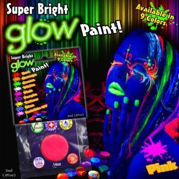 Super Bright Glow Paint $2.95
