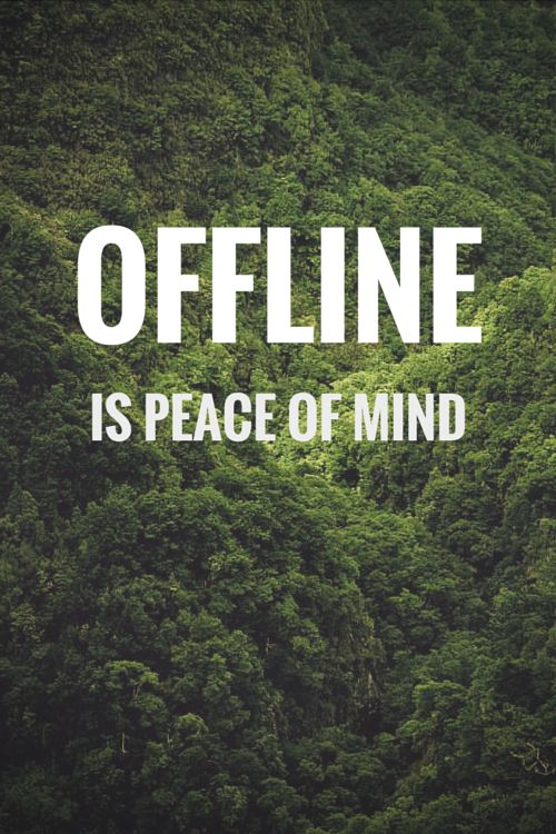 """The Internet/social media can be very draining and damaging for ENFPs. Information overload and too much """"bad news."""" Unplugging helps reduce the anxiety...:"""