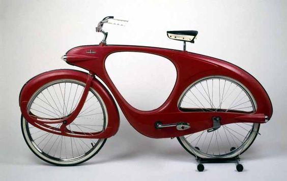 1948 Bowden Spacelander bicycle fiberglass