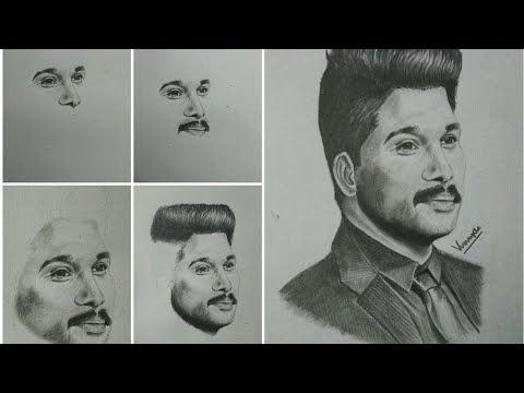 Allu Arjun Pencil Sketch Sarrainodu Youtube Pencil Drawing Images Pencil Sketch Pencil Photo