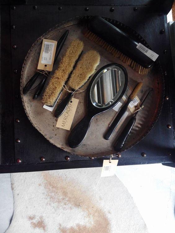 #mercadoloftstore #escova #escovas #set #brushesset #espelho #materiais