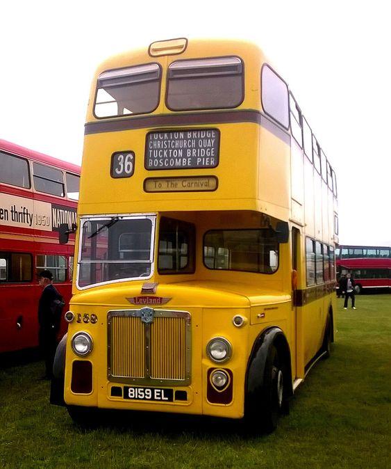 Preserved Bournemouth Corporation 159 - Leyland