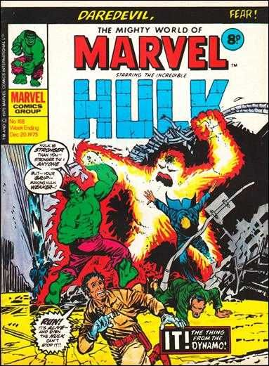 The Mighty World of Marvel #168