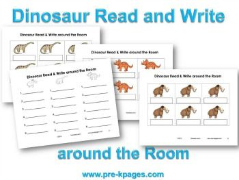 Write around the room activities for adults