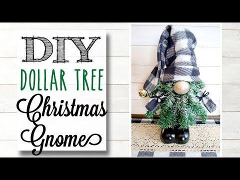 This Ultimate List Of Christmas Gnome Tutorials And Christmas Gnome Video Tutorials Will Give Dollar Tree Christmas Dollar Tree Christmas Decor Christmas Gnome