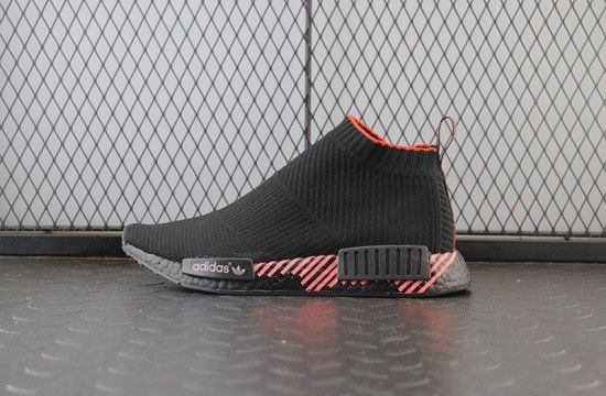 Adidas NMD CS1 Shock Red Core Black