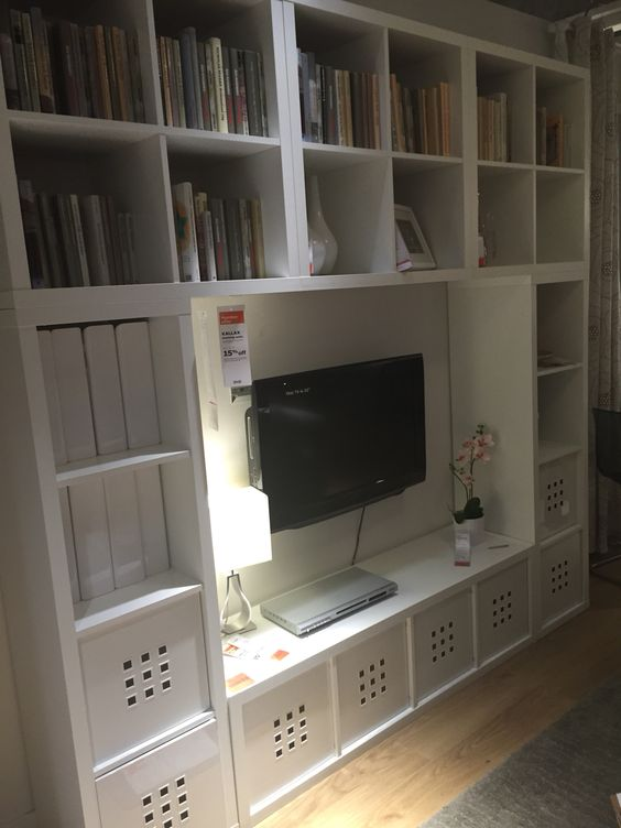Ikea entertainment center, TVs and Entertainment center on Pinterest