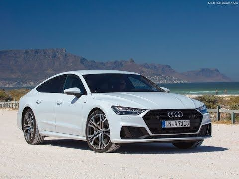 2019 Audi A7 Sportback White Driving Scenes Interior And Exterior De Audi A7 Sportback Audi A7 Audi