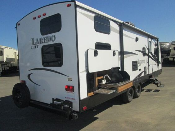 2015 Keystone Laredo 28bh Two Twin Bunk Outside Kitchen Used Rv For Sale Rv For Sale Recreational Vehicles