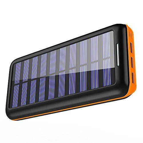 Solar Charger Kedron Portable Charger 22000mah External B Https Www Amazon Com Dp B077hnnk5q Ref Cm S Solar Charger Portable Charger External Battery Pack
