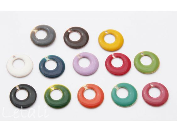 email rond met gat 18mm