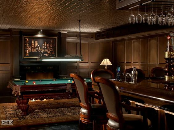 Man Cave Table : Man cave caves and bar pool table on pinterest